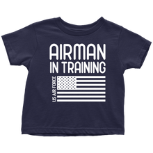 Load image into Gallery viewer, US Air Force Airman in Training T-Shirt Combo Navy Airman in Training Toddler Shirt