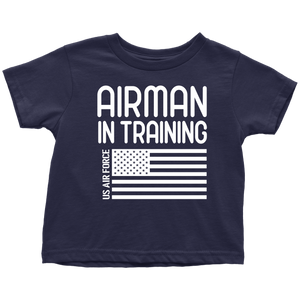 US Air Force Airman in Training T-Shirt Combo Navy Airman in Training Toddler Shirt