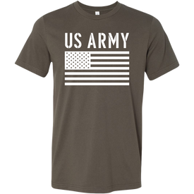 US Army Soldier in Training T-Shirt Combo Military Green US Army Shirt