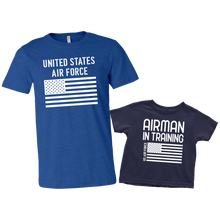 Load image into Gallery viewer, US Air Force Airman in Training T-Shirt Combo