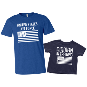 US Air Force Airman in Training T-Shirt Combo