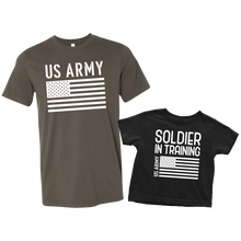 Load image into Gallery viewer, US Army Soldier in Training T-Shirt Combo
