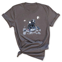 Load image into Gallery viewer, Space Force Astronaut Women's T-Shirt in Asphalt