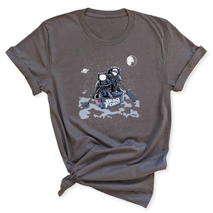 Space Force Astronaut Women's T-Shirt in Asphalt