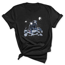 Load image into Gallery viewer, Space Force Astronaut Women's T-Shirt in Black