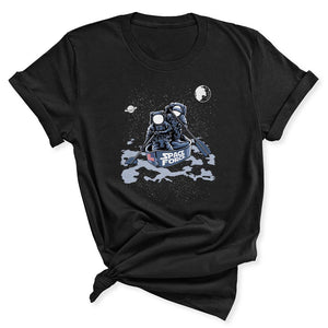 Space Force Astronaut Women's T-Shirt in Black