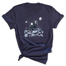 Load image into Gallery viewer, Space Force Astronaut Women's T-Shirt in Navy