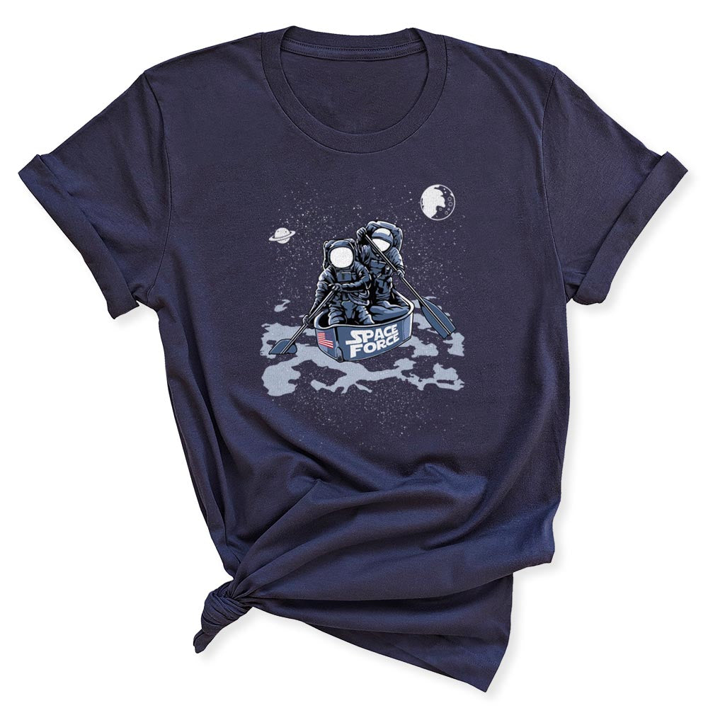 Space Force Astronaut Women's T-Shirt in Navy