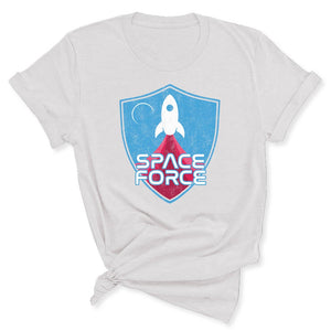 Space Force Blast Off Women's T-Shirt in Ash
