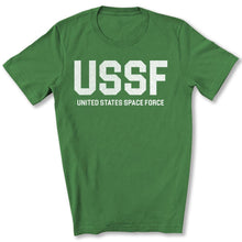 Load image into Gallery viewer, USSF Space Force T-Shirt in Leaf
