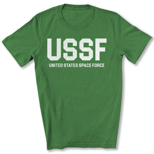 USSF Space Force T-Shirt in Leaf