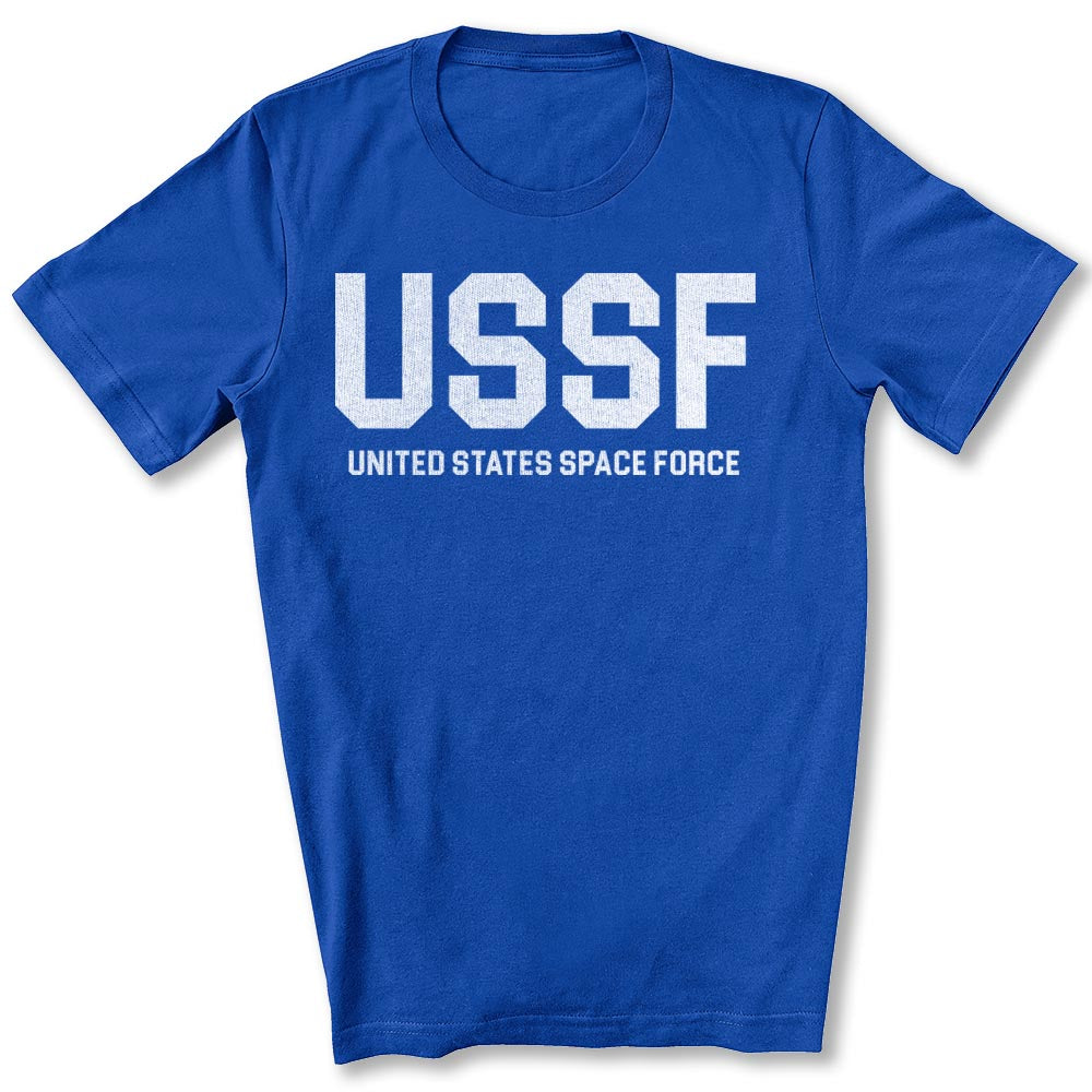 USSF Space Force T-Shirt in True Royal