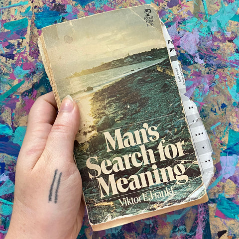 man's search for meaning collage poem