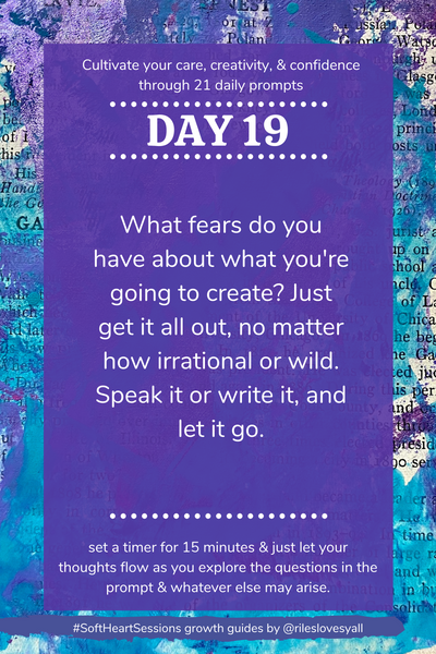 Creative journal prompts for caring humans