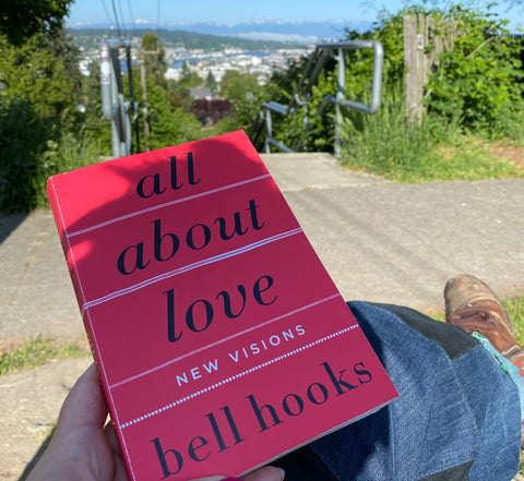 Social justice book club - All About Love by bell hooks