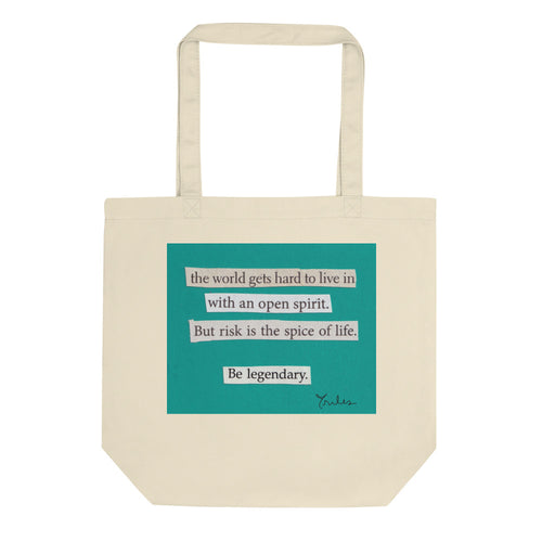 be legendary - canvas tote