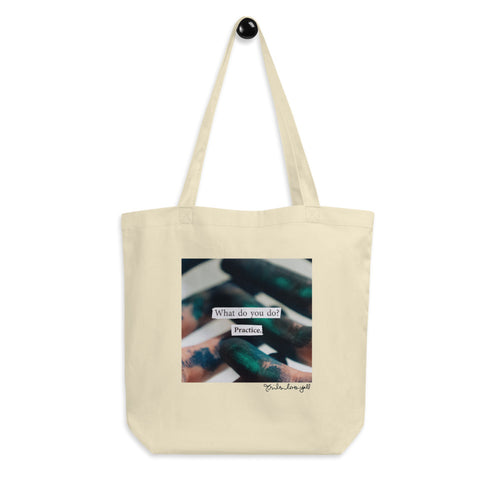 practice - canvas tote