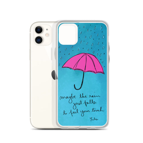 maybe the rain - iphone case