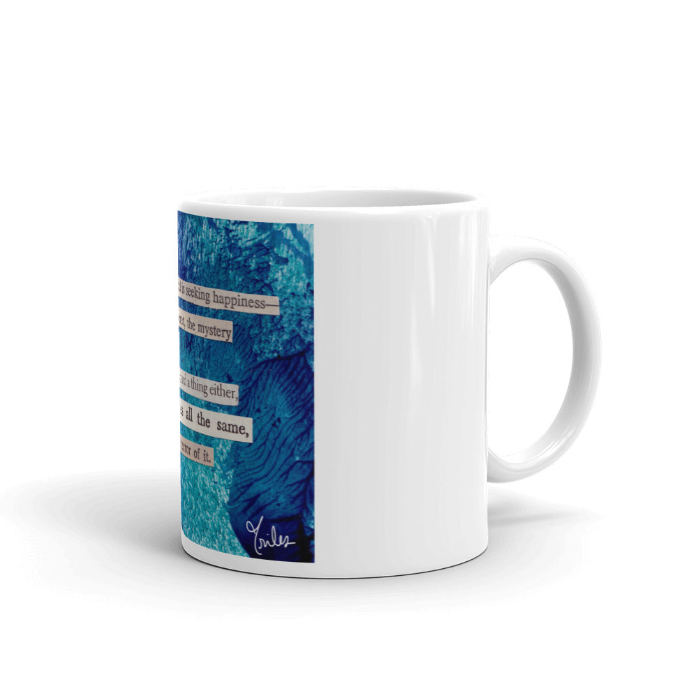 the terror - art coffee mug