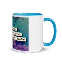 Load image into Gallery viewer, here is the secret (with some secret blue in the mug!)
