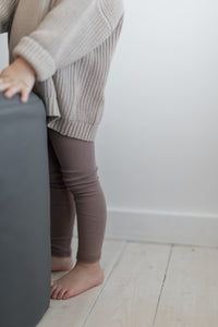 Thin ribbed day/night leggings