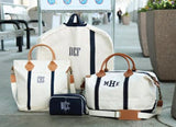 Monogrammed Weekender Bag, Oversized Weekender Bag, Weekend Canvas Bags, Wedding Gifts, Gifts for the couple