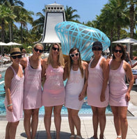 Swimsuit Coverup, Bridesmaid Tank Dresses, Bachelorette Party, Bridesmaid Tank Dress, Bachelorette Tank Dress