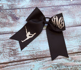 Cheer Bows, Hair Bows, Monogrammed Cheer Bow, Hair bow, Majorette Hair Bow, Twirler Hair bow, Baton Bows, Monogrammed Gifts, GROUP DISCOUNTS - PoshBoutiqueInc