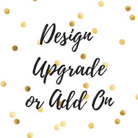 Size, Glitter, or Embroidery Upgrade - PoshBoutiqueInc