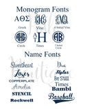 Monogram Shirt, Monogrammed Raglan Shirt, Baseball Shirt, Three Quarter Sleeve T shirt - PoshBoutiqueInc