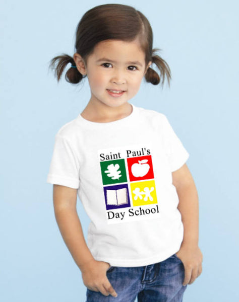 Custom Tee Shirts for St. Paul's Day School - PoshBoutiqueInc