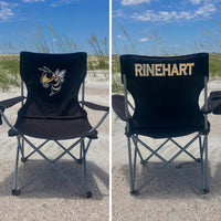 Custom Folding Chair, Personalized Chair, Beach Chair, Groomsman Gift, Custom Camp Chair, Game Day Chair, Personalized Chairs - PoshBoutiqueInc