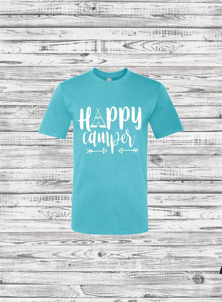 Custom Camping Shirts, Camping tee shirts, Camper Tee Shirt, Teepee, Road Trip, Camping Trip, Mountains, Hiking, Adventure, Road Trip Shirts - PoshBoutiqueInc