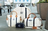 Monogrammed Weekender Bag, Oversized Weekender Bag, Weekend Canvas Bags, Wedding Gifts, Gifts for the couple - PoshBoutiqueInc
