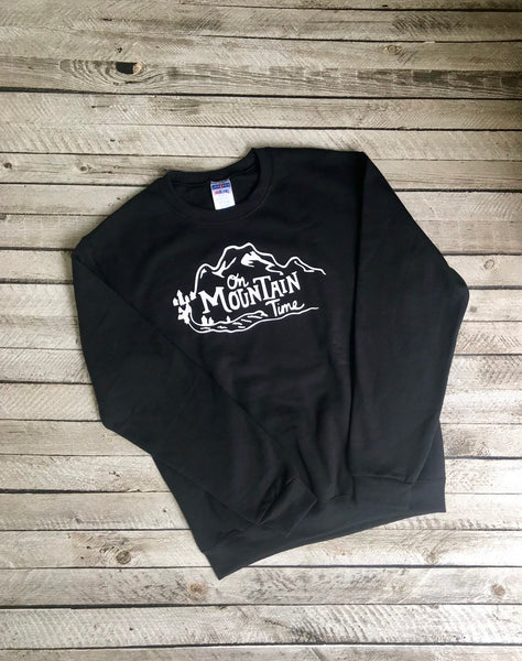 Camping Sweatshirts, Custom Camping Sweatshirts, Camper Sweatshirt, Road Trip, Mountain, Hiking, RV, Outdoors, Adventure, Hiking Sweatshirt - PoshBoutiqueInc