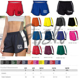 Monogram Running Shorts - Cheer Shorts - Monogram Cheer Shorts - Custom Cheer Shorts - Team Discounts - PoshBoutiqueInc