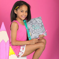 Monogram Pencil Bag, Personalized Pencil Case, Pencil Bags for Kids - PoshBoutiqueInc
