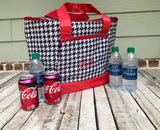 Monogrammed Cooler Tote, Cooler Bag, Monogram Cooler Bag, Lunch Box, Insulated Cooler Tote Bag, Back To School - PoshBoutiqueInc