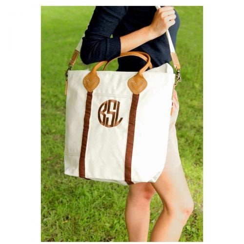 Monogrammed Carry On Flight Bag, Weekender, Personalized Carry On Bag, Shoulder Bag, Travel Bag - PoshBoutiqueInc