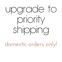 Overnight or Priority Shipping Upgrade - United States - Canada - Australia - EU - UK - PoshBoutiqueInc