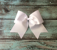 Cheer Bows, Hair Bows, Cheer bow, Big cheer bows, TEAM DISCOUNTS, Wholesale Cheer bows, Solid Cheer Bows, Blank Cheer Bows - PoshBoutiqueInc