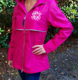 Monogrammed Rain Jacket - Bridesmaid Gifts - Monogrammed Charles River Rain Jacket - New Englander Rain Jacket - Gifts for Her - PoshBoutiqueInc