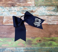 Monogrammed Cheer Bow, Hair Bows, Cheer Team Bows, Monogrammed Gifts, Big Cheer Bows, Custom Cheer Bows - PoshBoutiqueInc