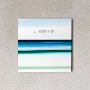 MiniWall All we need is less | Simebooks