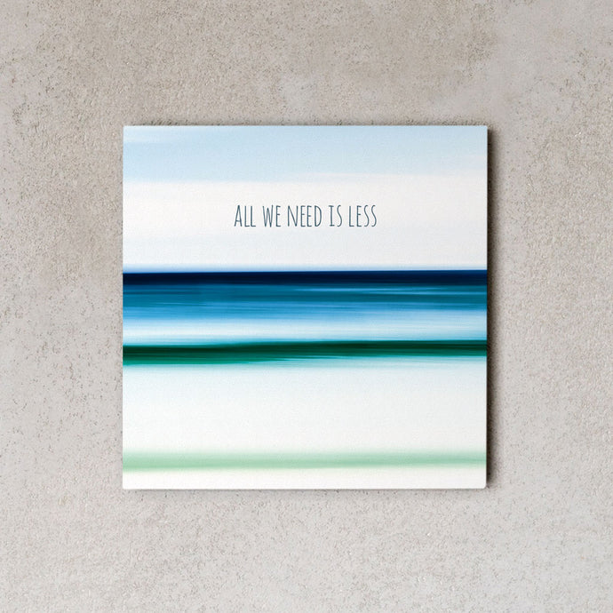 MiniWall - All we need is less