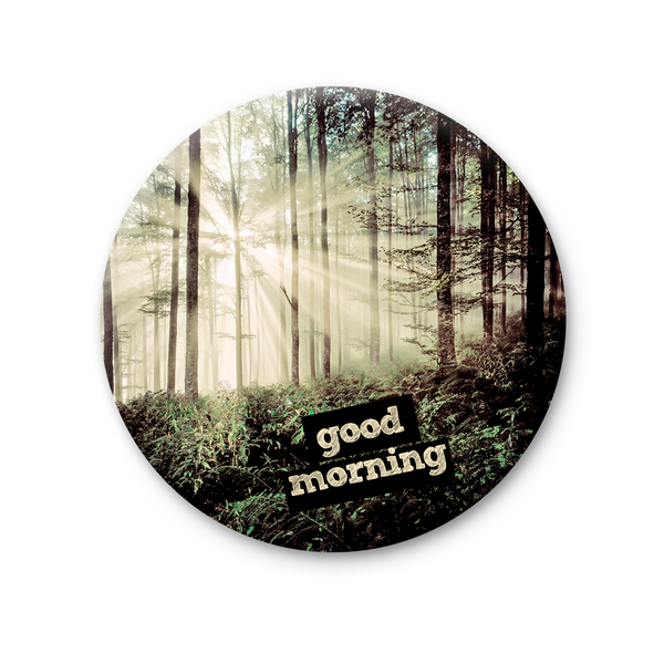 Round Magnet - Good Morning