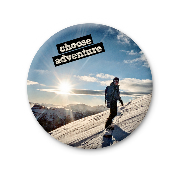Round Magnet - Choose Adventure