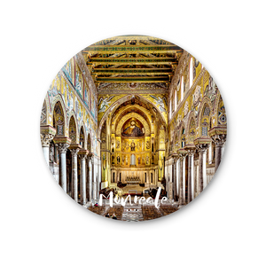 Round Magnet - Monreale, nave