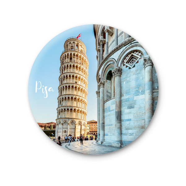 Round Magnet - Pisa, Tower