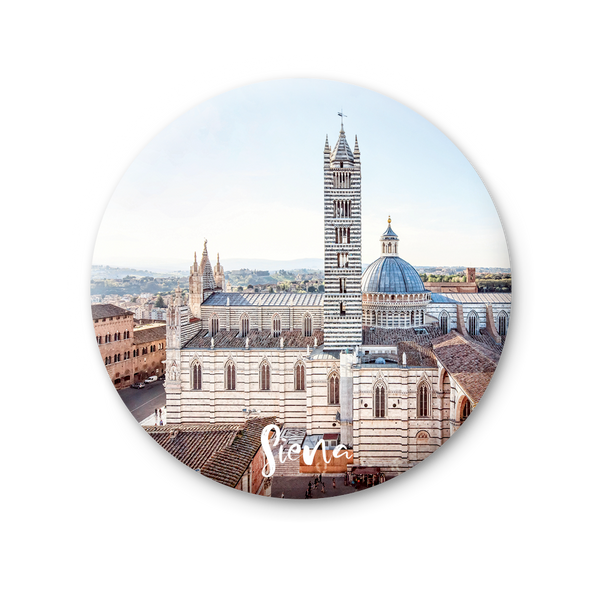 Round Magnet - Siena, Cathedral
